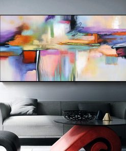 AAVV Wall Art Canvas Print Wall Painting Abstract Painting Wall Picture For Living Room Home Decor No Frame