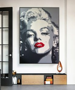 Marilyn Monroe's Painting Prints on Canvas