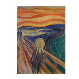 Art Famous Abstract Oil Painting Edvard Munch Scream Shout Prints on Canvas
