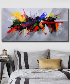 Single Panel Big Size Canvas Art Painting Modern Home Decoration Printed Handpaint Oil Painting Custom Dropship Poster Prints