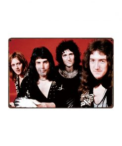 [ WellCraft ] Queen Music Rock Posters Tin Sign Wall Plate Vintage Pub bar Vintage Painting Personality Decor HY-1719