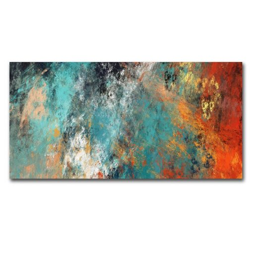 Large Size Wall Pictures For Living Room Home Decor Abstract Clouds Colorful Canvas Painting Art Home Decor No Frame