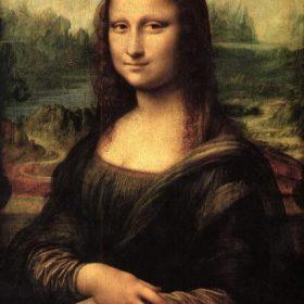 Da Vinci Famous Smile Of Mona Lisa Portrait Canvas Art Painting Reproductions Classical Art Prints For Living Room Decor