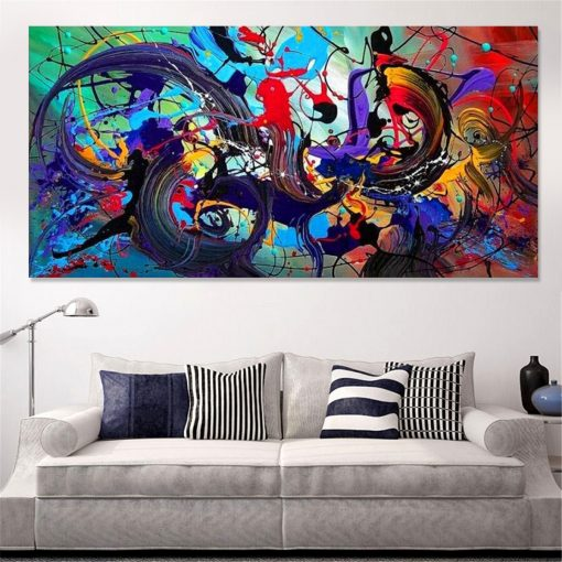 Abstract Modern Art Oil Paintings Print Picture Home Wall Decor Unframed