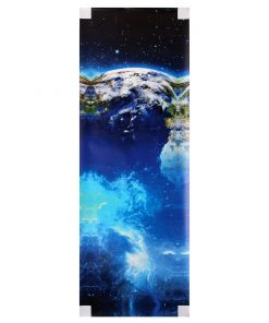 5Pcs Frameless Huge Wall Art Oil Painting Pictures Print Blue Planet Canvas Painting Home Office Living Room Decor