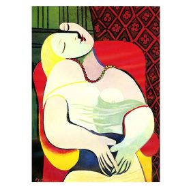 Picasso Dreaming Woman Famous Dream Wall Art Oil Paintings On Canvas Posters Prints Artwork Wall Pictures Home Decor Cuadros