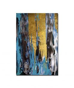 Wall Art Decor Abstract Colorful Painting, Printed on Canvas