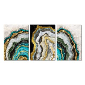Modern Art Marble Abstract Painting Print on Canvas