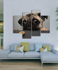 4Pcs Modern Art