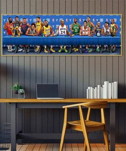 Classic Kobe Bryant Michael Jordan Poster Creative Basketball Star Wall Art Canvas Painting Living Room Bedroom Decor Boy Gift