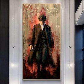 Digital Art Illustration of Peaky Blinders Wallpaper - Printed on Canvas