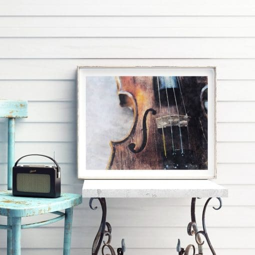 Violin Instrument Canvas Poster Prints College of Music Wall Art Painting Wall Picture Violin Teacher Gift Music Room Wall Decor