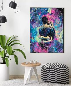 HUACAN Oil Painting By Numbers Couples Handpainted Abstract On Canvas DIY Pictures Lovers Gift Home Decoration Wall Art
