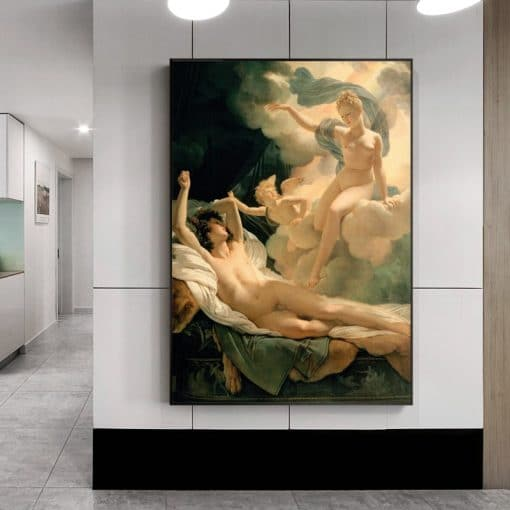 Pierre Nasis Garland's Dream and Aries Canvas Painting Wall Art Famous Picture Posters and Prints for Living Room Home Decor
