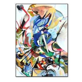 Vintage Wassily Kandinsky Famous Abstract Printing Canvas Paintings Poster and Print Wall Art Picture for Living Room Home Decor