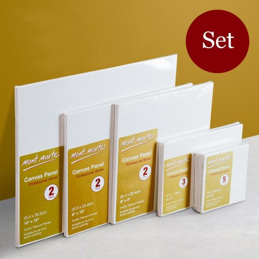 Multiple sizes White Blank Square Artist Canvas For Oil Painting Acrylic cotton canvas board