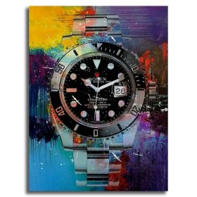 Modular Pictures HD Printed Wall Artwork Colorful Watch Paintings Nordic Style Home Decoration Canvas Posters For Bedroom Frame