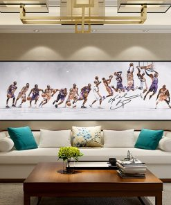 Basketball Star Classic Kobe Posters and Prints Canvas Painting Scandinavian Cuadros Wall Art Picture for Living Room Home Decor