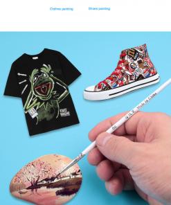 100Pcs/Set Fine Hand-painted Thin Hook Line Pen Multicolor Baton Drawing Art Pen Paint Brush Art Supplies Nylon Brush Special