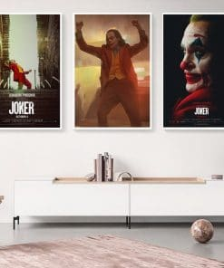 Movie Joker Canvas Poster Comics Oil Painting on Canvas Cuadros Posters and Prints Wall Art Picture for Living Room