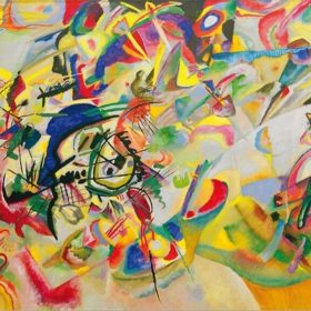 Wassily-Kandinsky-Composition-VII-1913-Abstract-Wall-Art-Canvas-Paintings-Modern-Posters-And-Prints-Pop-Art