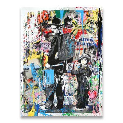Follow Your Dreams Street Wall graffiti Art Canvas Paintings Abstract Einstein Pop Art Canvas Prints For Kids Room Cuadros Decor