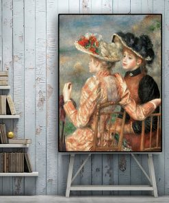 Pierre auguste renoir Oil Painting on Canvas Reproduction Posters and Prints Scandinavian Pop Art Wall Picture for Living Room