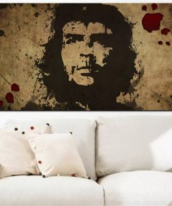 HD Print Wall Art Canvas Character Retro Che Guevara Freedom Posters Wall picture for Living Room Nostalgic Old Bar Decorative