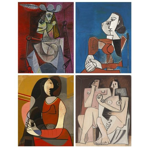 Picasso Home Decor Abstract Painting The Nightmare Before Christmas Wall Pictures For Living Room Wall Art Canvas Poster Unframed