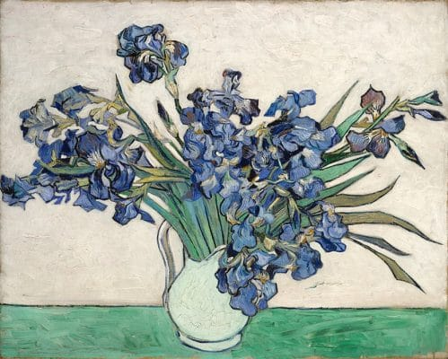 Irises – Vase with Irises 1890