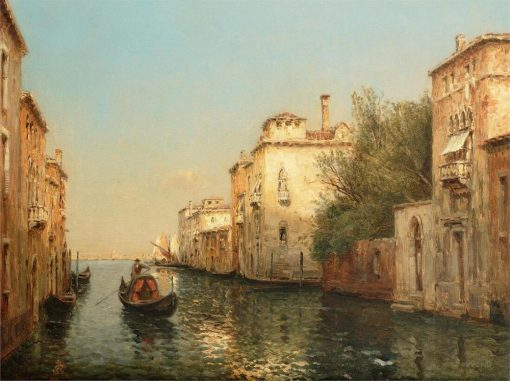 Water Town Venice Seascape