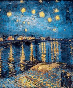 Famous Van Gogh Cafe Terrace At Night Oil Painting Reproductions on Canvas Posters and Prints Wall Art Picture for Living Room