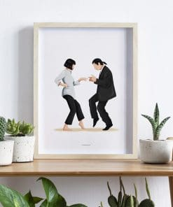 Classic Movie Pulp Fiction Canvas Painting Modern Posters and Prints Wall Art Picture for Living Room Home Decoration Cuadros