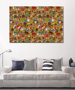Pop Art Andy Warhol Canvas Painting Abstract famous Prints and Posters Cuadros Wall Art Pictures for Living Room Home Decoration