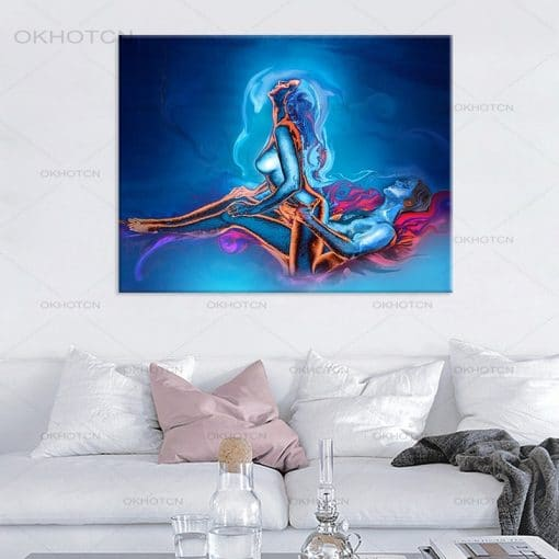 Abstract Poster Prints Canvas Painting High Sex Is The Best Wall Art Canvas Print Pictures for Home Bedroom Hotel Decoration
