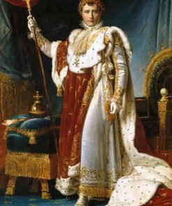 Portrait of Napoleon European Court Oil Paintings Print On Canvas Art Posters And Prints Classical Napoleon Art Pictures Cuadro