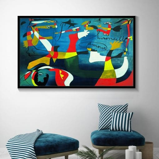 Picasso Famous Abstract Canvas Painting Reproductions Posters and Print Cuadros Wall Art Picture for Living Room Home Decoration