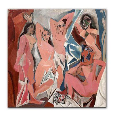 Picasso Les Demoiselles d'Avignon Canvas Paintings On the Wall Art Prints Famous Artwork Reproductions Picasso Canvas Art Prints