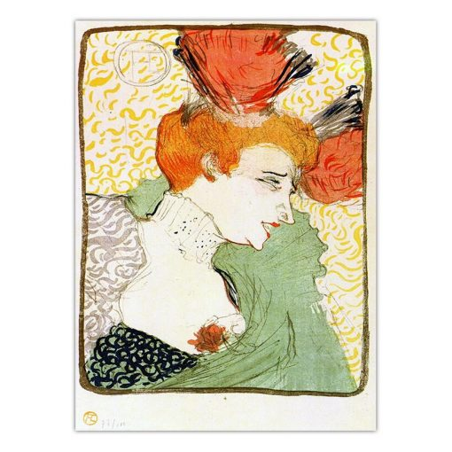 Home Decoration Print Canvas Art Wall Pictures for Living Room Oil Unframed Drawings Poster Paitings French Toulouse-Lautrec