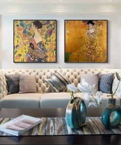 Gustav Klimt Classical Famous Canvas Painting Posters and Prints Cuadros Wall Art Pictures for Living Room Home Decor No Frame