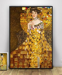 Gustav Klimt Canvas Painting Retro Famous Posters and Prints Cuadros Wall Art Pictures for Living Room Home Decoration Unframed
