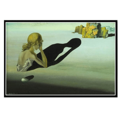 Remorse, or Sphinx Embedded in the Sand, 1931