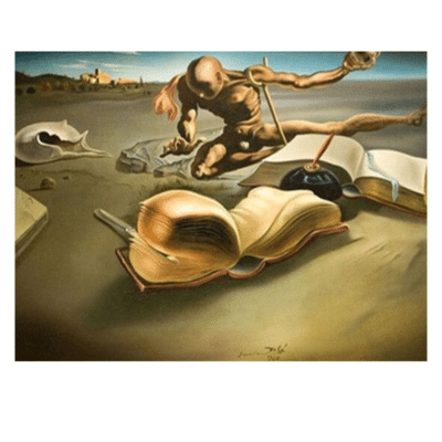 Book Transforming Itself into a Nude Woman 1940
