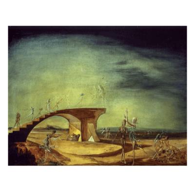 Broken Bridge and the Dream, 1945