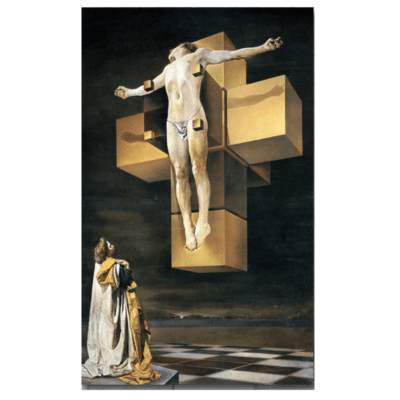 Crucifixion Corpus Hypercubus, 1954