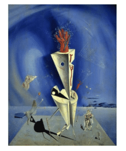 Apparatus and Hand by Salvador Dalí