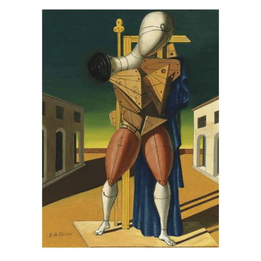 A Troubadur by Giorgio De Chirico 1950
