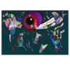 Around the Circle by Wassily Kandinsky