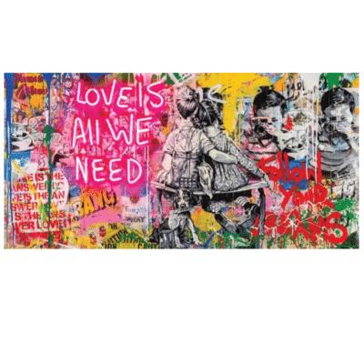 Love is All We Need Graffiti