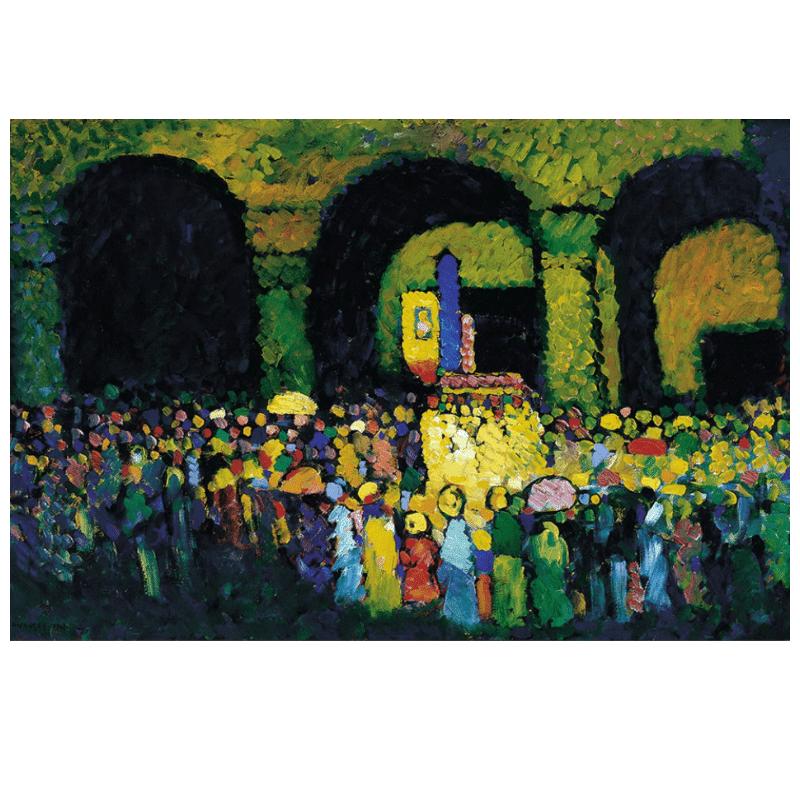 Ludwigskirche in Munich by Wassily Kandinsky